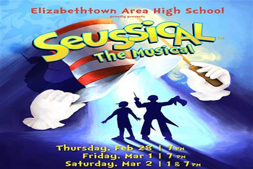 EAHS To Present Seuss Classic Seaussical Feb. 28th, March 1st and 2nd