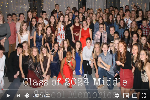 EAMS - Eighth Grade Celebration Video