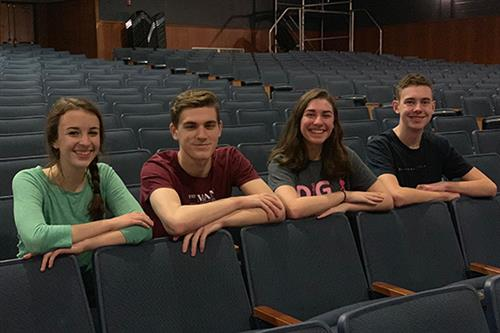 Students nominated for acting awards from the Hershey Theater