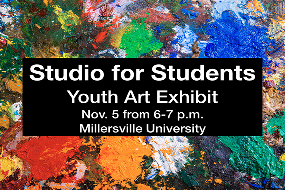 Artist Reception at Millersville University for EAHS students
