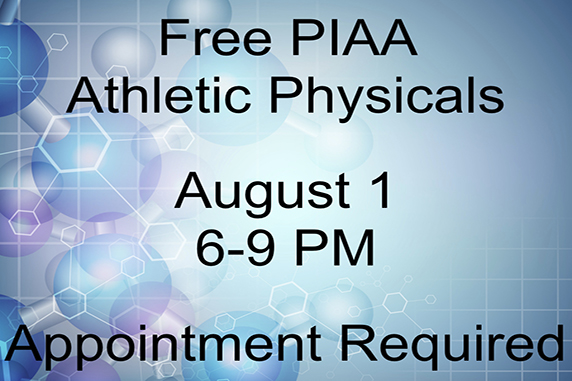 Free PIAA Athletic Physicals