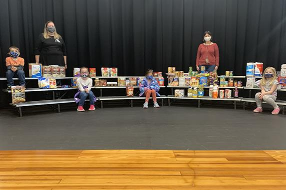 Thanksgiving Food Drive at Bainbridge Elementary
