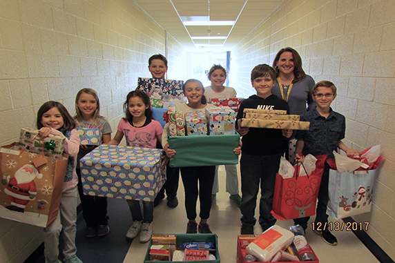 Bear Creek School Giving Tree Program Supports Local Families