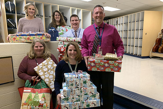 Bear Creek School Giving Tree benefits students from the Greater-Elizabethtown community