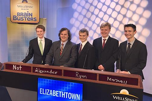 Elizabethtown Area High School team competes in Brain Busters Competition