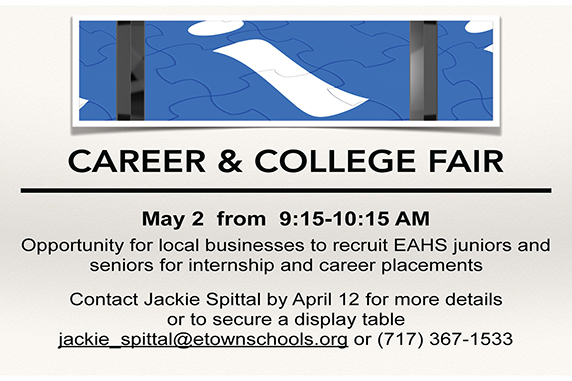 EAHS to host Career and College Fair