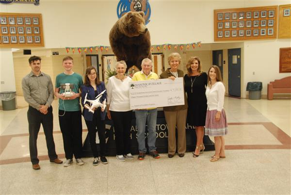 Local education foundation receives check from Masonic Village at Elizabethtown