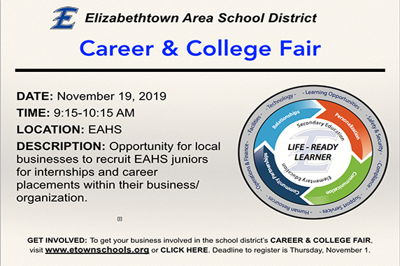 EAHS to host College and Career Fair