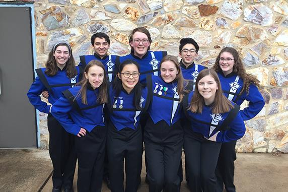 EAHS Students Perform at All-County Band Festival