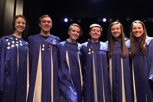 EAHS Students Perform at All-County Music Festival