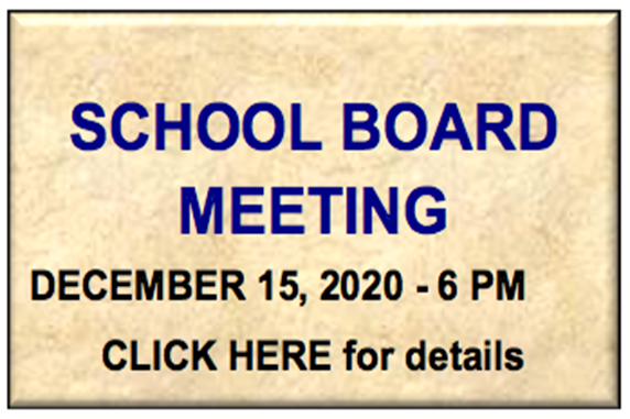 School Board Meeting - December 2020 Action Meeting