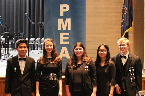 EAHS Students Named to Prestigious District Orchestra