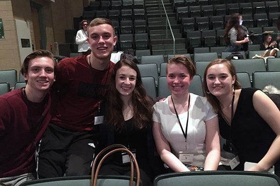 EAHS students sing at District Choral Concert