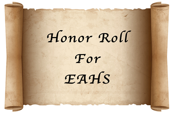 EAHS Announces Second Marking Period Honor Roll