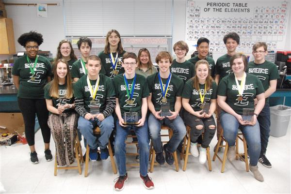 EAHS students win big at local science fair