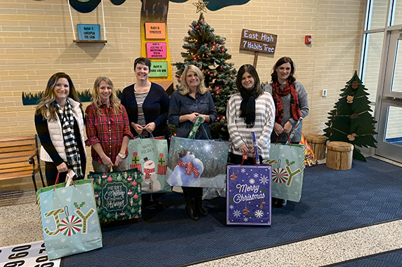East High Street Elementary School supports holiday Giving Tree
