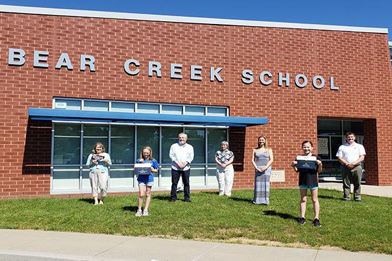 Bear Creek School Students Win Top Honors in Local History Contest