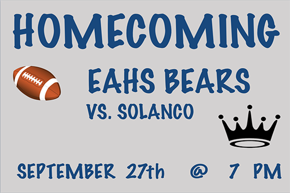 Homecoming Activities Scheduled At EAHS