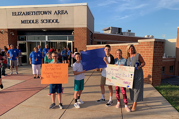 EASD Welcomes Back Students