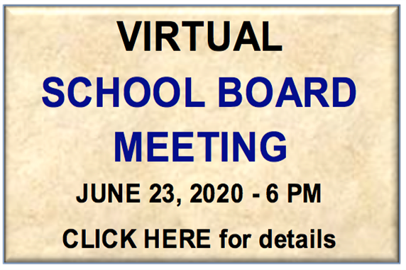 Virtual School Board Meeting - June Action Meeting
