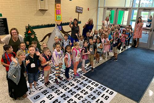 Class of 2032 Arrives for Kindergarten