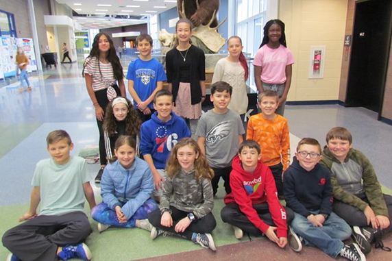 Bear Creek Students honored as February's Leader In Me Students of the Month