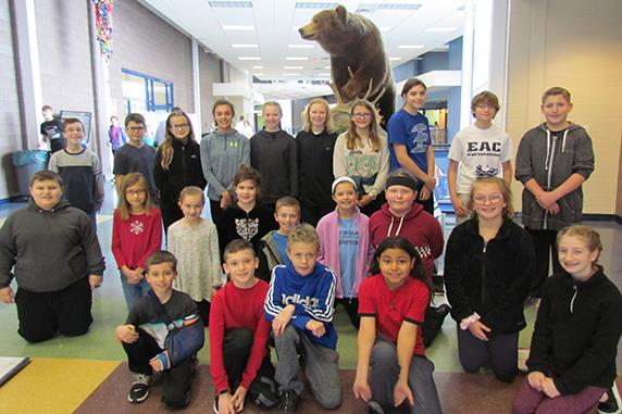 Bear Creek Students honored as January's Leader In Me Students of the Month