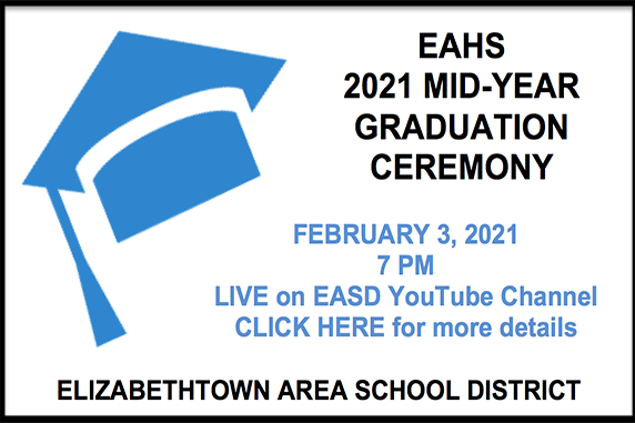 EAHS to Hold Mid-Year Graduation Ceremony, Twelve Seniors to Receive Diplomas