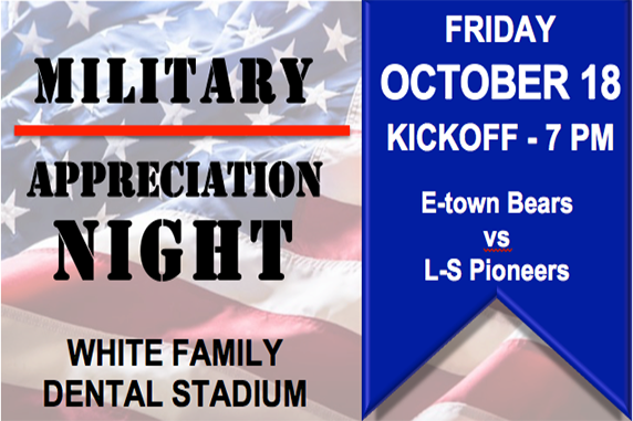 EAHS to host its first-ever Military Appreciation Night