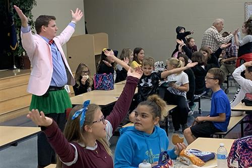 Bear Creek School students host 'Mix It Up at Lunch Day'