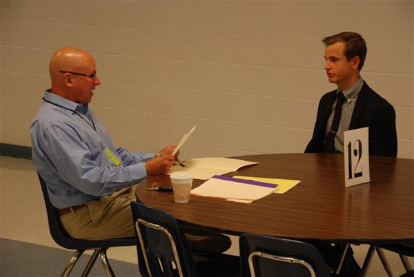 Mock Interviews Held at Elizabethtown Area High School