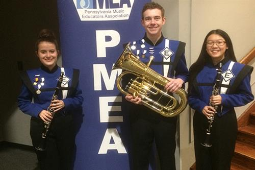 EAHS Students Perform at PMEA District Band Festival