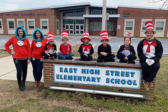 EASD Celebrates Read Across America Day
