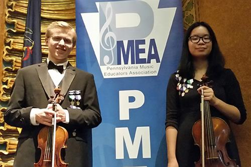 Talented student-musicians selected to prestigious orchestra ensemble