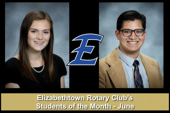 Pictures of June Students of the Month