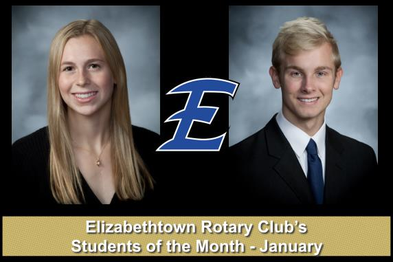 EAHS January students of the month named