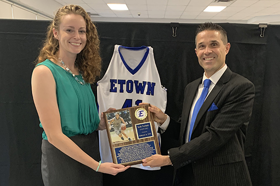 EASD Inducts Sarah Fairbanks Into its Athletic Hall of Fame