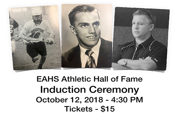 Athletic Hall Of Fame Induction Ceremony Set For October 12