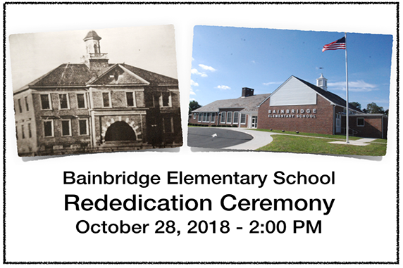 Bainbridge Elementary School Rededication Ceremony and Community Open House Set for October 28