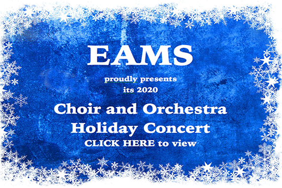 EAMS 2020 Holiday Concert - Choir & Orchestra
