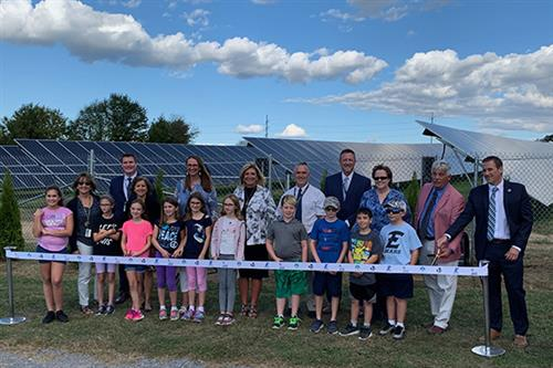 EASD holds ribbon cutting for solar field