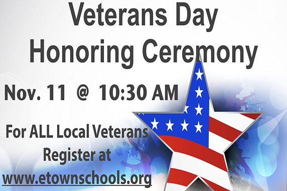 Elizabethtown Area School District To Honor Local Veterans