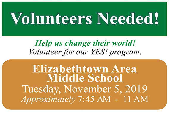 Volunteers Needed for Junior Achievement's YES! Program
