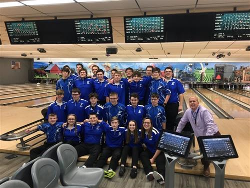E-Town Bowling Team Claims Section 2 Title