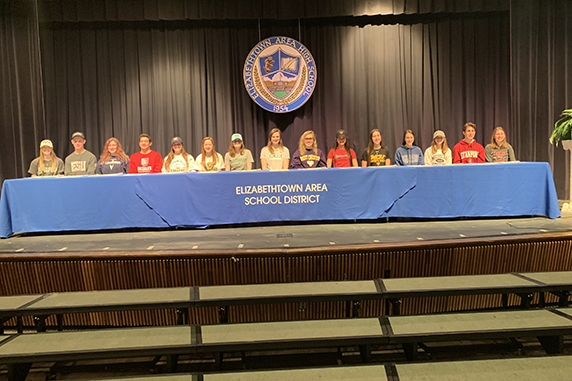 EAHS holds Athlete Recognition Day