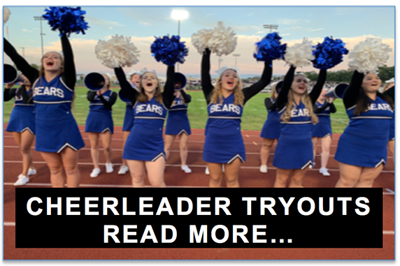 Cheerleader Tryout Information for 2020-2021