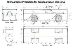 truck sketch