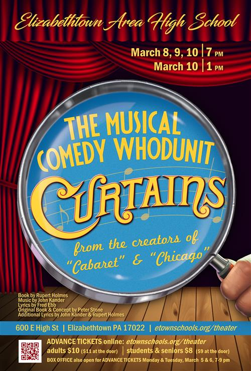 2018 Curtains Musical