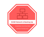 EASD Network and Backing Up Files Badge