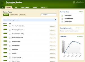 Section Editor screenshot